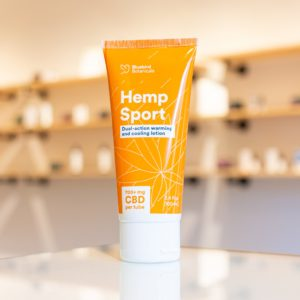 Bluebird Botanicals Hemp Sport CBD Cream